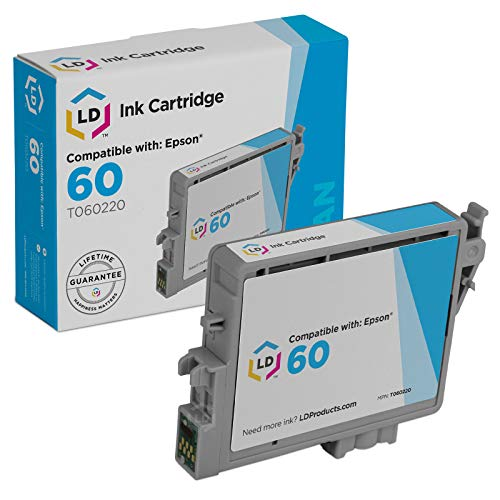 LD Products Remanufactured Ink Cartridge Replacement for Epson T0602 ( Cyan ) Alabama