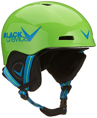 Black Crevice Kinder Skihelm Stubai, grün/Blau, 2