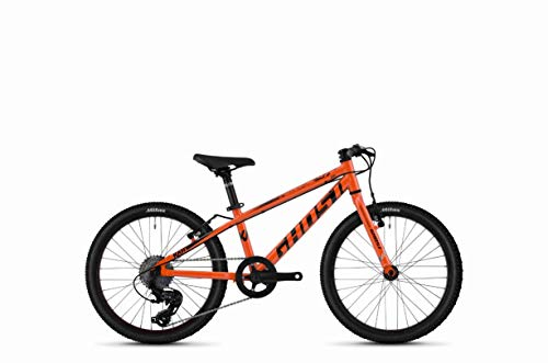 Ghost Kato R1.0 AL U 20R Kinder Mountain Bike 2020 (27cm, Monarch Orange/Jet Black)