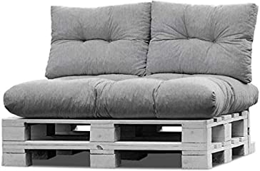 Set Sofa Sitzkissen mit Rückenkissen
