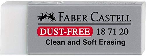 Faber-Castell DustFree - Goma de borrar, Gris, 1 unidad