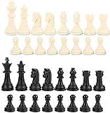 NBALL-TT 2 Parejas Chess Chessman International Chess Chessman Chess Game Chessman Reemplazo Accesorio para niños y Adultos