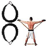 YNXing Bandas de Resistencia Fuerza Brazos Piernas Músculos de los glúteos Ideal para Boxeo Karate
