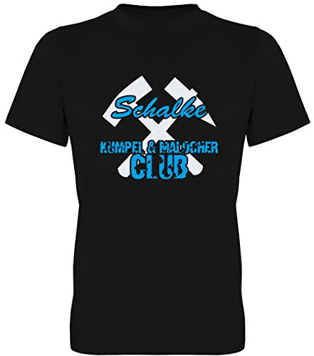 Schalke - Kumpel & Malocher Club Fan-T-Shirt Unisex Herren (078.453) (3XL)