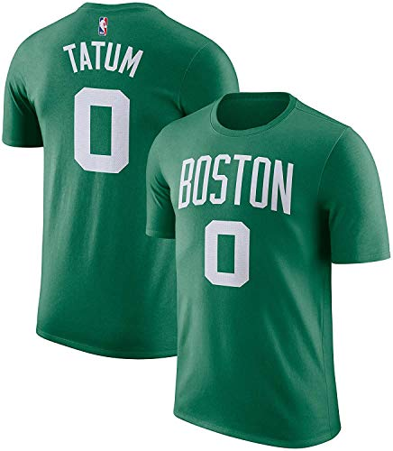 Outerstuff NBA Youth Performance Game Time Team Color Player Name and Number Jersey T-Shirt (Jayson Tatum Boston Celtics Green, X-Large 18/20)