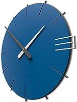 CalleaDesign - Wall clock Mike, electric blue