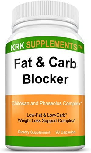 1 Pack Fat and Carb Blocker with Phaseolus Vulgaris White Kidney Bean Extract Chitosan Extreme product image