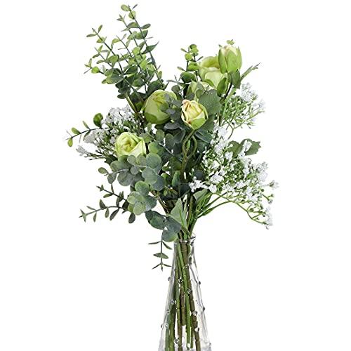 Flores Secas Naturales Para Jarrones flores secas naturales  Marca huaao