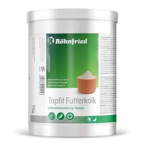 Röhnfried Topfit-Spezial-Futterkalk - Mineralfuttermittel mit Vitaminen und Spurenelementen für Tauben (1000 g)