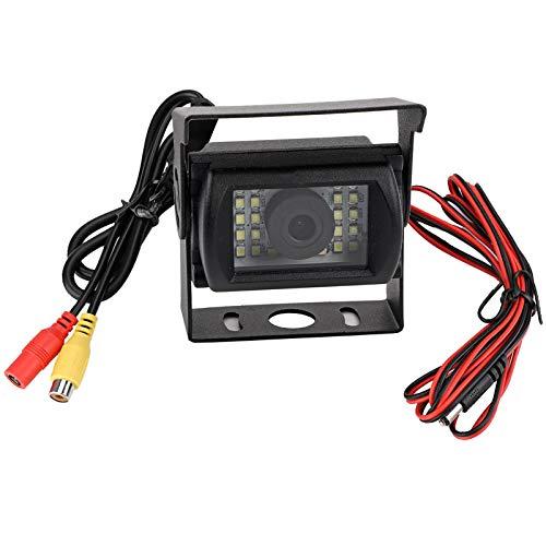 Kathlen Cámara de Marcha atrás: cámara de Marcha atrás HD Impermeable con visión Nocturna infrarroja con 24 Luces LED