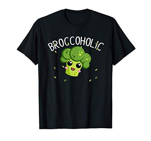 Lustiges Veganer Vegetarier Shirt Brokkoli Gemüse Geschenk T-Shirt