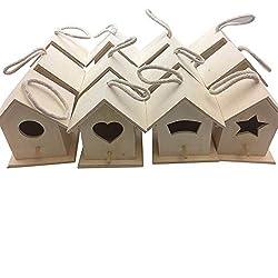 commercial Oojami builds your own wooden birdhouse 12 Birdhouse Bulk (Modern) angry birds house