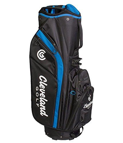 Cleveland 12102347Sac de Chariot de Golf, Homme, Noir/Bleu, Taille Unique