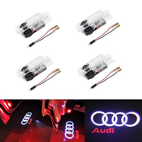 LED Schlüsselanhänger AUDI A1 A2 A3 A4 A5 A6 Q1 Q2 Q3 Q5 Q7 S LINE  BMW  FORD