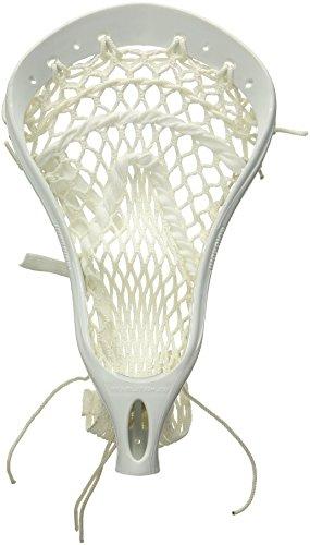 Warrior REV2 PP Strung Lacrosse Head, White, HS