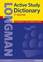 Longman Active Study Dictionary 5th Edition Paper (Longman Active Study Dictionary of English)