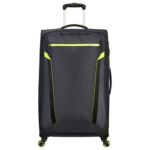 American Tourister At Eco Spin - Trolley con 4 ruote, 79 x 29 cm Atlas Grey S