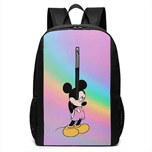 Backpack 17 Inch, Minnie Large Laptop Bag Travel Hiking Daypack for Men Women School Work