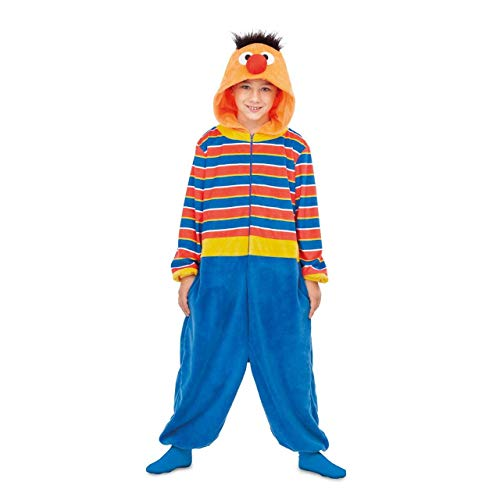 Barrio Sésamo Disfraz Pijama de Epi para niños