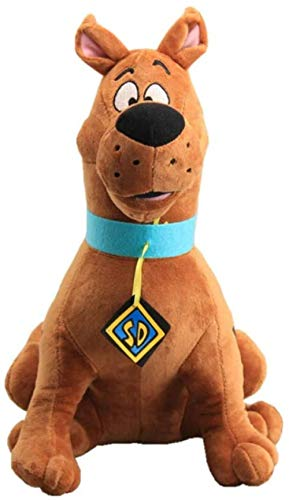 Kshong Cute Scooby Doo Dog Soft Stuffed Plush Toy Dolls Gift For Kids Cute and Realistic Plush Dog Doll Baby Toy Niños Regalo 35cm