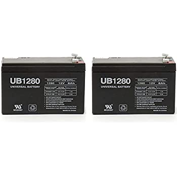 Amazon Com 12v 8ah Ups Battery Replacement For Apc Back Ups Es Be550g 2 Pack Electronics
