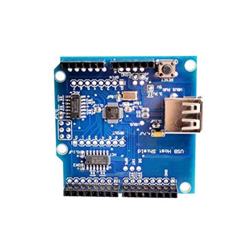 Iwinna USB-Host-Shield kompatibel mit Arduino für Android ADK Support für UNO Mega.