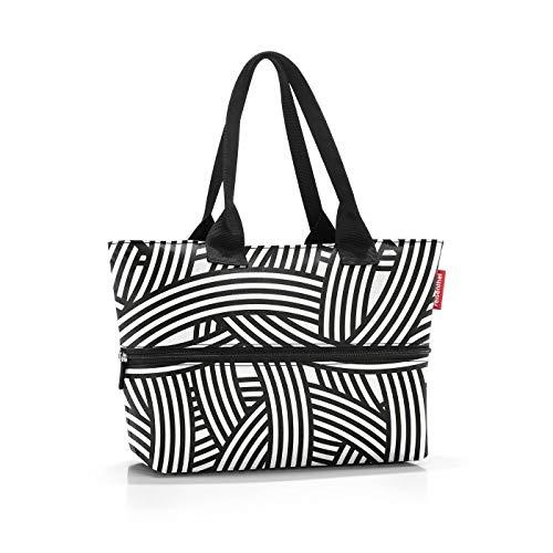 Reisenthel Shopper e1 Zebra, Schwarz Weiß, S