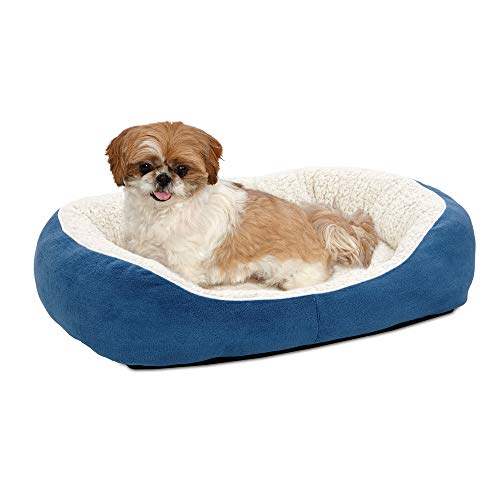 Midwest Homes for Pets Cuddle Bed, Blue, Medium