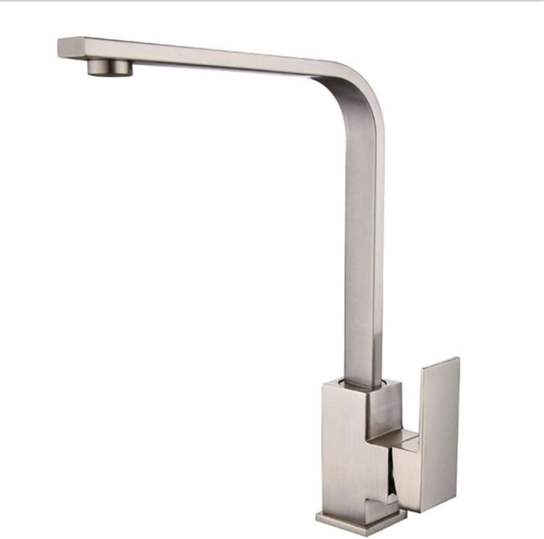 Bathroom Sink Basin Lever Mixer Tap Face Basin Faucet Square Tube greenical Kitchen Dish Basin Faucet Vegetable Basin Sink Faucet
