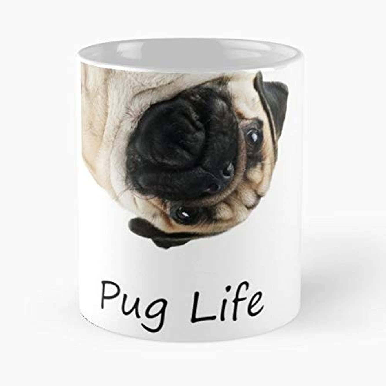 Pug Life Thug Dog Morning Coffee Mug Ceramic Novelty Holiday