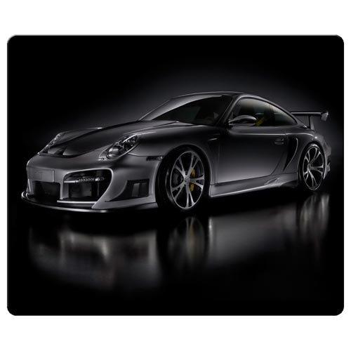 26x 21cm/25,4x 20,3cm Personal Maus Pads Präzise Reinigungstuch umweltfreundlichem Gummi Form ist langlebig Porsche Car Logo Super
