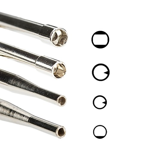 Hipa Pack of 10 Carburetor Adjustment Tool Kit for 2 Cycle Engine Husqvarna Craftsman Chainsaw Weed Eater Echo STHIL Poulan MTD Ryobi Homelite Trimmer Screwdriver with Case