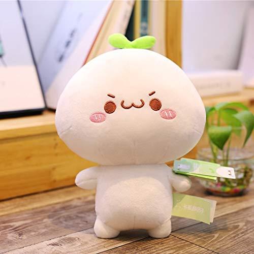 Anyinghh 25-65cm Creativo Lindo Dumpling Juguetes de Peluche Animal Encantador muñeco de Peluche para niños niñas Suave Almohada de Dibujos Animados Regalo 25cm 3