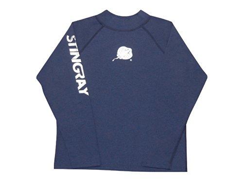 Sting Ray T-Shirt à Manches Longues Anti-UV Bleu Bleu Roi Medium