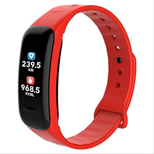 Pulsera inteligente con pantalla a color, monitor de frecuencia cardíaca impermeable, Fitness Tracker Bluetooth, reloj… 1