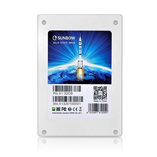 TcSunBow 32GB小容量SSDプロモーションデスクトップPCとMacPro用の2.5インチSATA II内蔵ソリッドステートド...