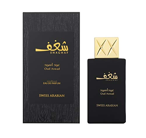 Shaghaf Oud Aswad by Swiss Arabian Eau De Parfum Spray 2.5 oz / 75 ml (Women)