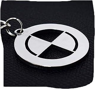 stainless steel BMW key chain - car logo keychain