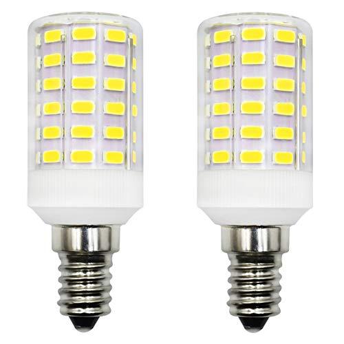 E14 LED 6W Mini Glühbirne AC 12V/DC 12-24V Niederspannungs Edison Glühbirne E14 Schraubensockel Kaltweiß 6500K 60W Ersatz für Wohnmobil Garage Garten Dekorlampe, 2er-Pack[MEHRWEG]
