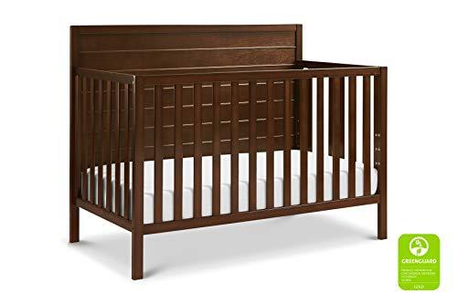 Carter's by DaVinci Morgan 4-in-1 Convertible Crib in Espresso | Greenguard Gold Certified
