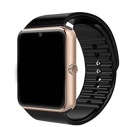 BANAN Reloj inteligente para teléfonos Android compatible con iPhone-1.5 pulgadas pantalla táctil smartwatch con recordatorio sedentario podómetro fitness reloj inteligente para teléfonos Android