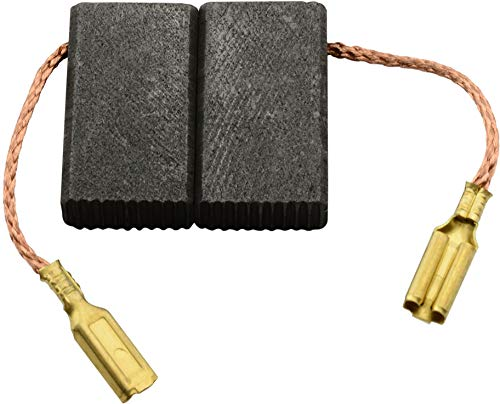 Escobillas de Carbón para VIRUTEX FR192N fresadora - 5x11x19mm - 2.0x4.3x7.5\'\'