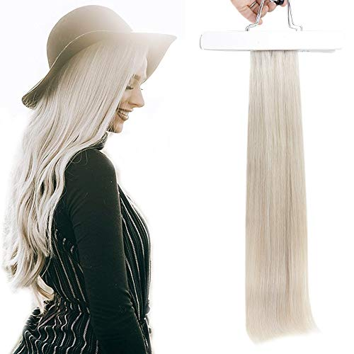 Youshine Brasilianische Remy Haarverlängerungen Human Weft Haar bündel 1000 Eisblond Bundle Haar Extensions 1 Weben: 35cm lang und 150cm Breit 70g