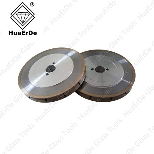 Lowest Price! Xucus CNC Straight Edge Diamond metal powder binder Glass Grinding Wheel Aluminum allo...
