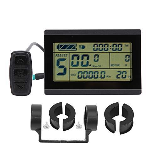 chengong Stabile Leistung mit USB-Schnittstelle Hochzuverlässiges E-Bike-LCD-Instrument, E-Bike-Umrüstzubehör für Radfahrer-Autohäuser