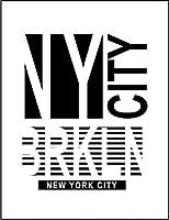 【FOX REPUBLIC】【ニューヨーク NYC ブルックリン】 白マット紙(フレーム無し)A4サイズ
