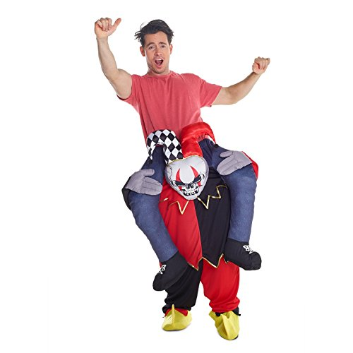 Morph Unisex Piggy Back Jester Piggyback Costume - With Stuff Your Own Legs