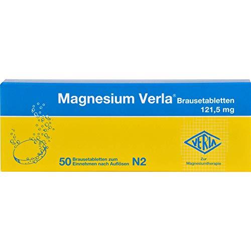 Magnesium Verla 121,5 mg Brausetabletten, 50 St. Tabletten