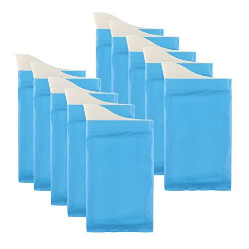 GGBuy Lot de 10 poches à urine jetables pour camping, voyage, super absorbantes