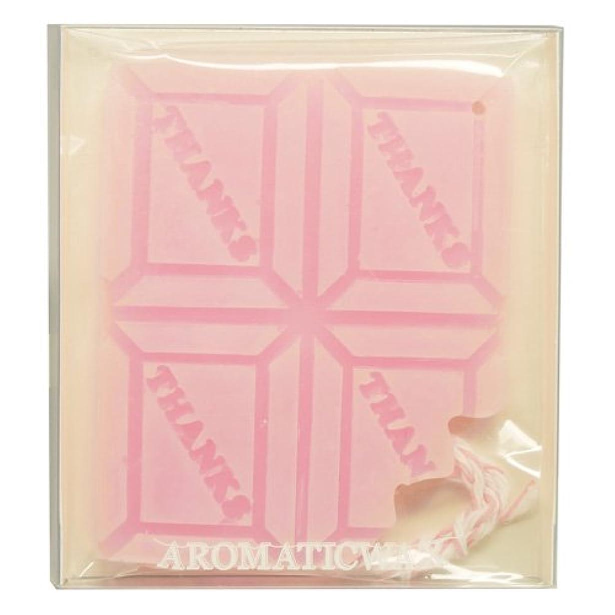ギャップ夏ペパーミントGRASSE TOKYO AROMATICWAXチャーム「板チョコ(THANKS)」(PI) ゼラニウム アロマティックワックス グラーストウキョウ